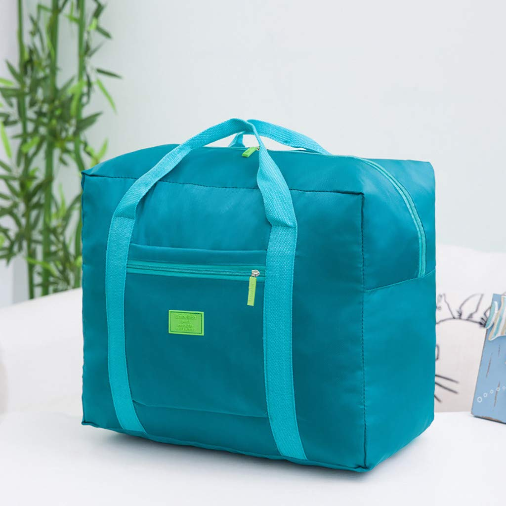 Best Easter Gift!! Cathy Clara Packable Travel Duffel Bag Waterproof Nylon Foldable Carry-on Package Versatile,Sports Duffle Bag Gym Bag Travel Duffel with Adjustable Strap