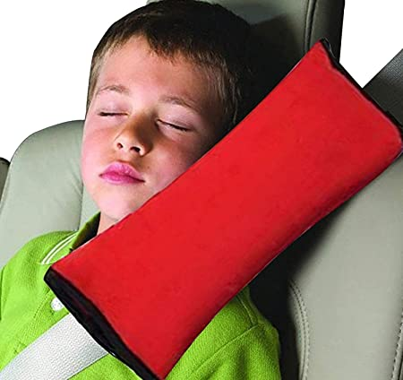 Car Shoulder Pads Vehicle Seat Belt Pillow Adjustable Seat Belt Cover for Kids