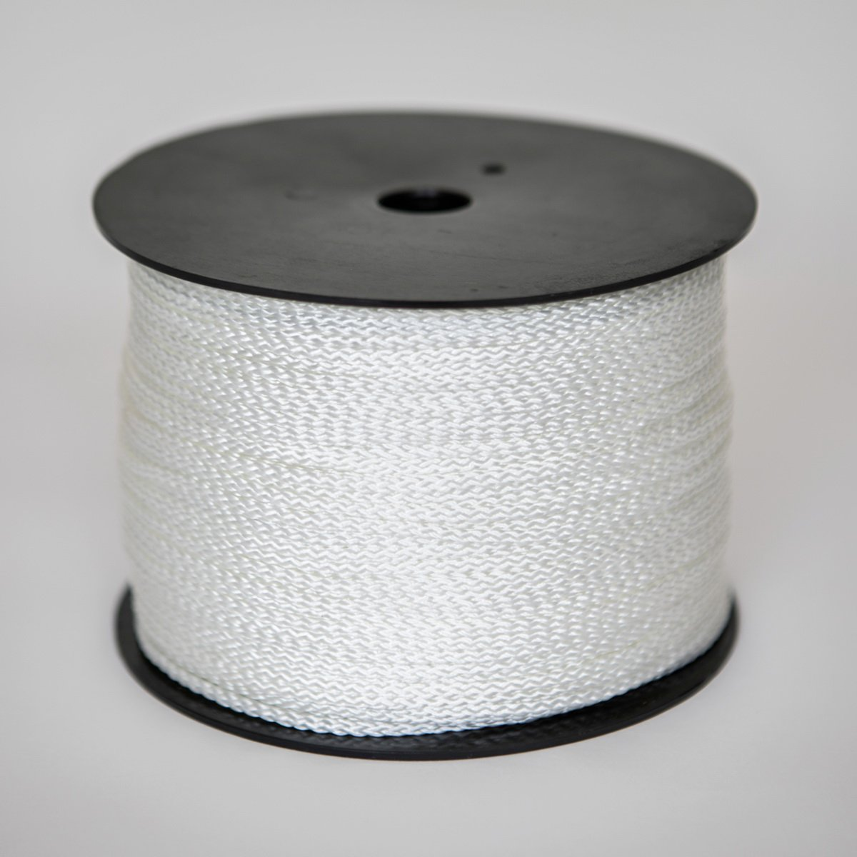 1/8 inch x 1000 Feet Premium Low Stretch Polyester Cord (#4) | Synthetic Rope | Commercial Grade Industrial Braided Rope