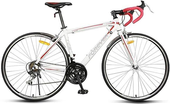 8haowenju Bicicleta de Carreras de Bicicleta de Carretera 700C de ...