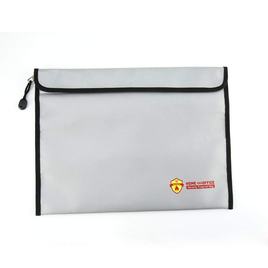 Sunnylife Battery Safe Bag Explosion-Proof Folder Security Fireproof Waterproof Bag Storage Home Office Document File Guard Formulaone
