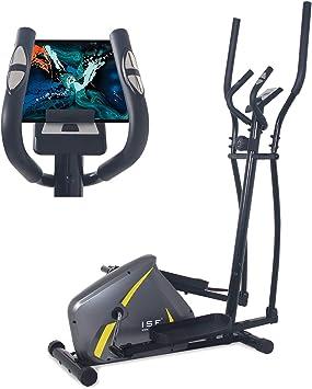 ISE Bicicleta Elíptica de Fitness para Casa con Sensor de Pulso, 8 ...