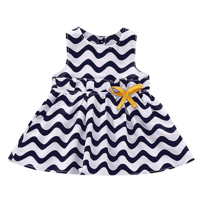 Amazon.com: Vestido para bebé, chaleco falda, para niños sin ...