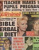 National Examiner 1986 Apr 01 Debbie & Liz,Susan Lucci