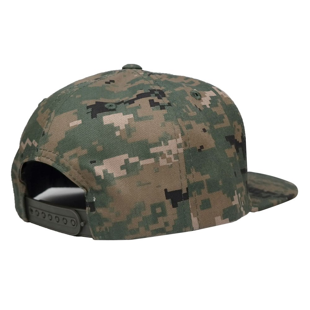 4820884247319 Flat Bill NASA Insignia Space Logo Embroidered Iron On Patch Camo Snapback  Cap - ACU at Amazon Men s Clothing store