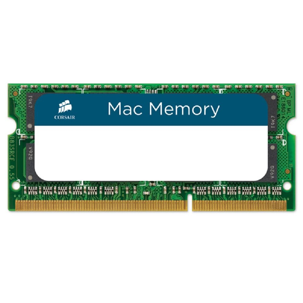 Corsair CMSA8GX3M1A1600C11 Apple Mac 8GB (1x8GB) DDR3L 1600Mhz CL11 Apple Zertifiziert SO-DIMM Kit