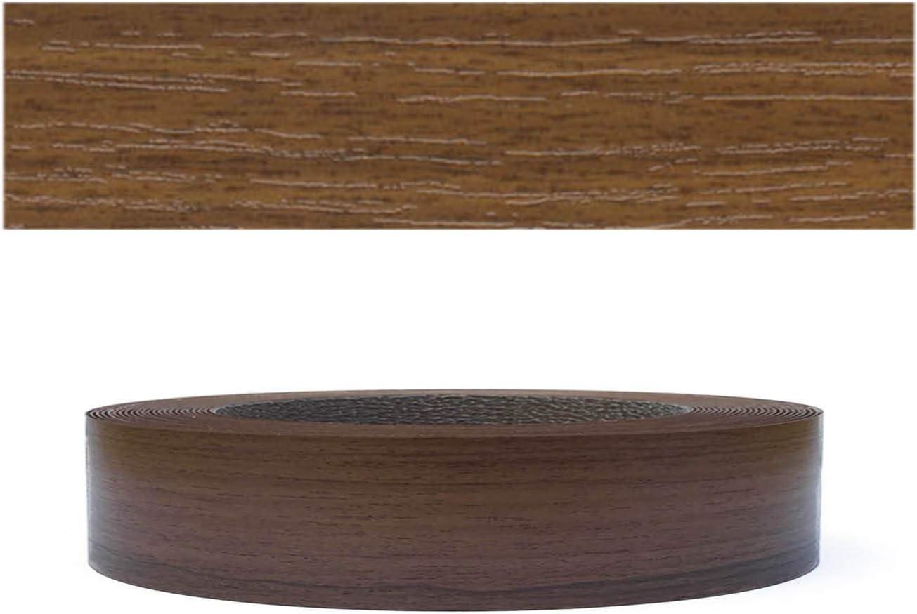 Mprofi MT® (10m rollo) Cantoneras laminadas melamina para rebordes con Greve Nogal Pore 22 mm
