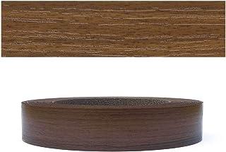 Mprofi (10 m Roll) Pre Glued Iron on Melamine Edging Tape with Hot Melt Walnut 22 mm