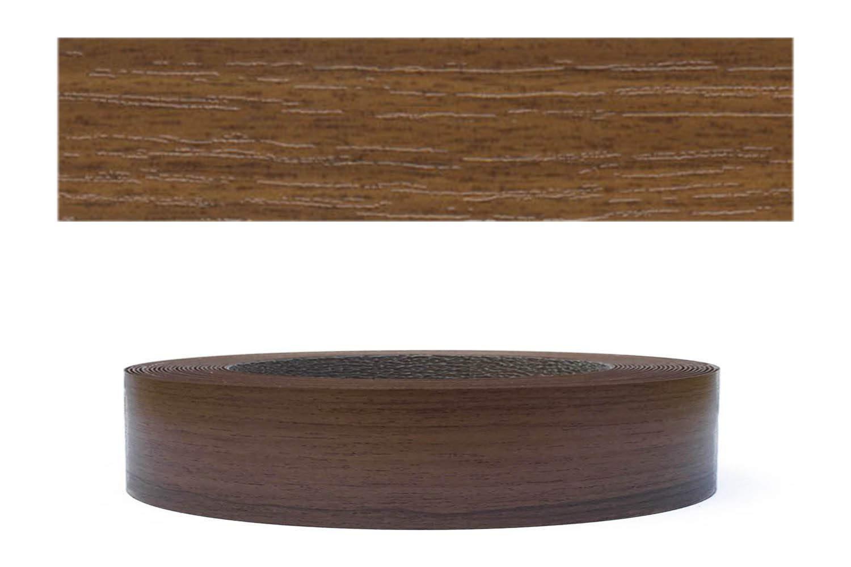 Mprofi (20m rollo) Cantoneras laminadas melamina para rebordes con Greve Nogal Pore 22 mm
