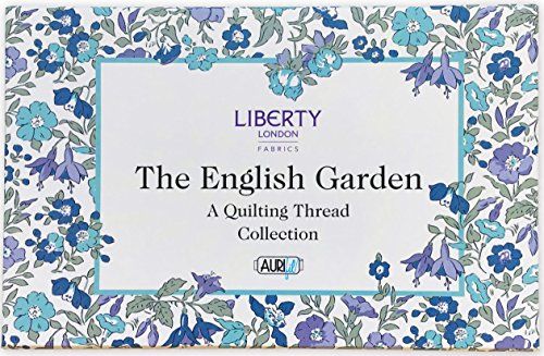 English Fabric - Liberty London Fabrics The English Garden Aurifil Thread Kit 12 Large Spools 50 Weight LL50EGSP12