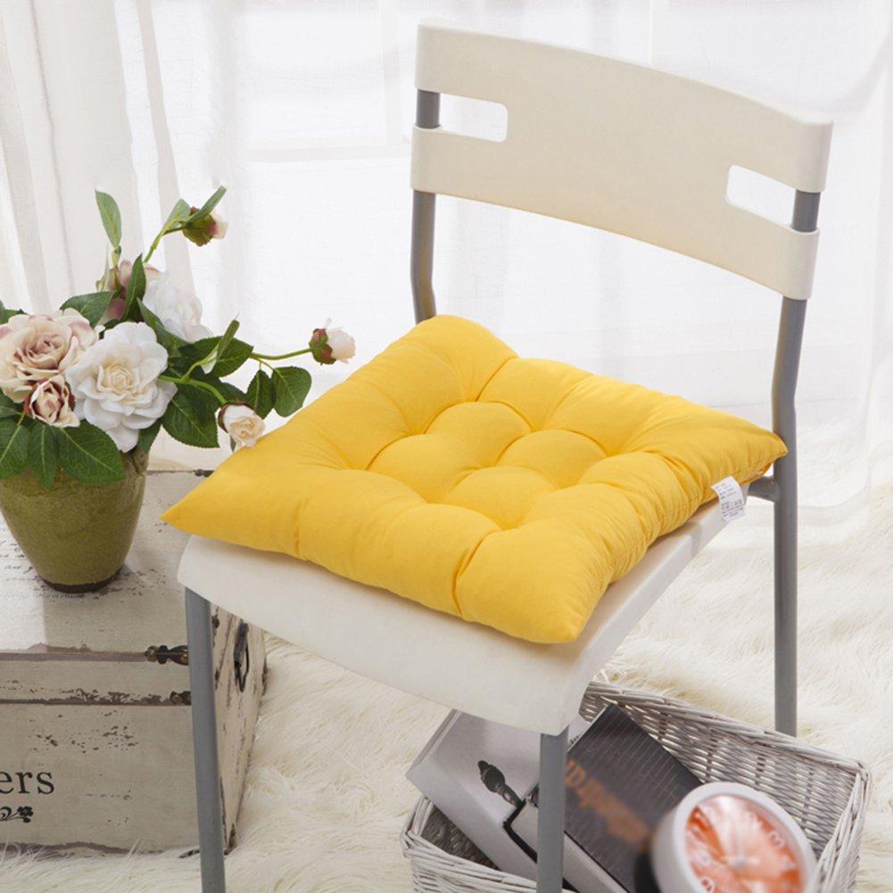 b72141a85d2a72 Worsendy Galettes de chaise, Lot de 4 Galettes de chaise,Irresistibly  Cushiony Soft Seat