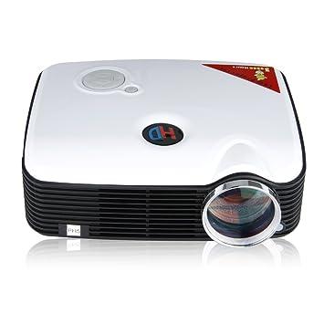 Excelvan® Nuevo Mini LED Proyector 2500 Lúmenes HD Multimedia AV ...