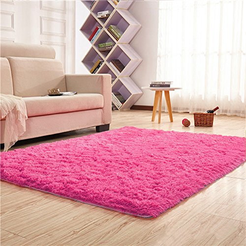 Noahas Super Soft 4.5cm Thick Modern Shag Area Rugs Fluffy