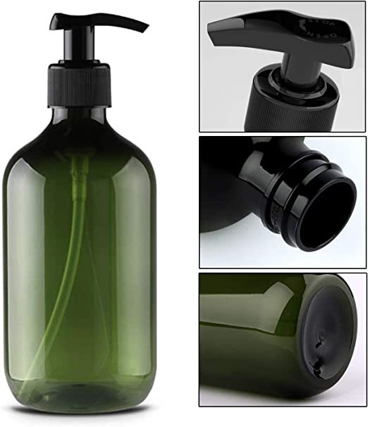 Alledominio, 2 botellas de plástico vacías rellenables de 500 ml ...
