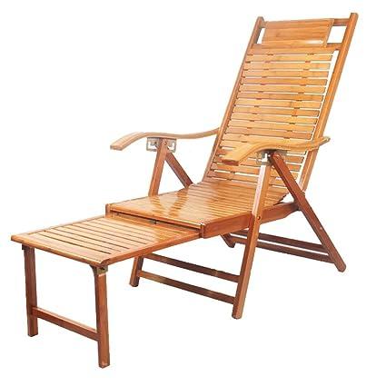 Amazing Amazon Com Sjysxm Recliners Foldable Deck Chair Lounge Customarchery Wood Chair Design Ideas Customarcherynet
