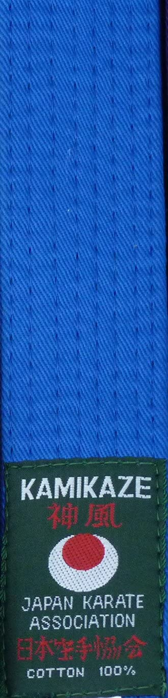 Orange Gr/ün Blau Violett Kamikaze FARBG/ÜRTEL f/ür Erwachsene Gelb Braun oder Rot