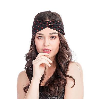 Damen Spitze Breites Haarband Stirnband Haarreif Turban Haarschmuck Kopfschmuck