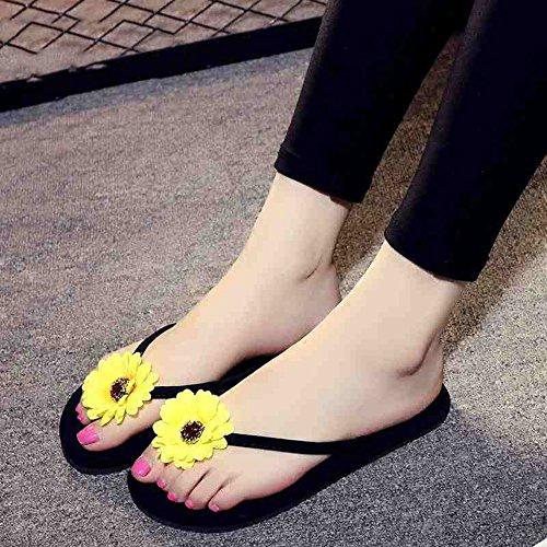 Taille 40 Ans pour 1004 UK3 EU36 Sortes Plates Femmes 5 18 HAIZHEN pour CN35 Femelles Couleurs Couleur Les de 1001 5 Femmes Sandales pour Chaussures FxO6q6w5H