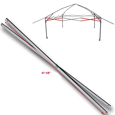 "for Coleman 13 x 13 Instant Eaved Shelter Canopy Costco Side Truss Bar Replacement Parts 41 1/8"" : Garden & Outdoor"