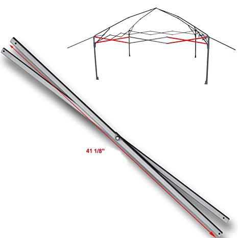 for Coleman 13 x 13 Instant Eaved Shelter Canopy Costco SIDE TRUSS Bar  Replacement Parts 41 1/8
