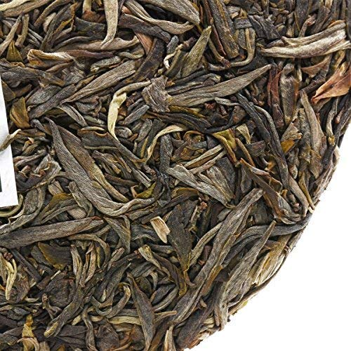 NanJie Spring of 2017 [Old Banzhang Tea King Tree] Ancient Tree Single Plant Pure Pu'er Tea by NanJie (Image #4)