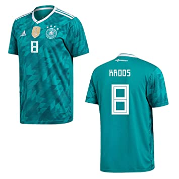 Camiseta Adidas Kroos 8, de la federación de fútbol alemán DFB, para hombre,