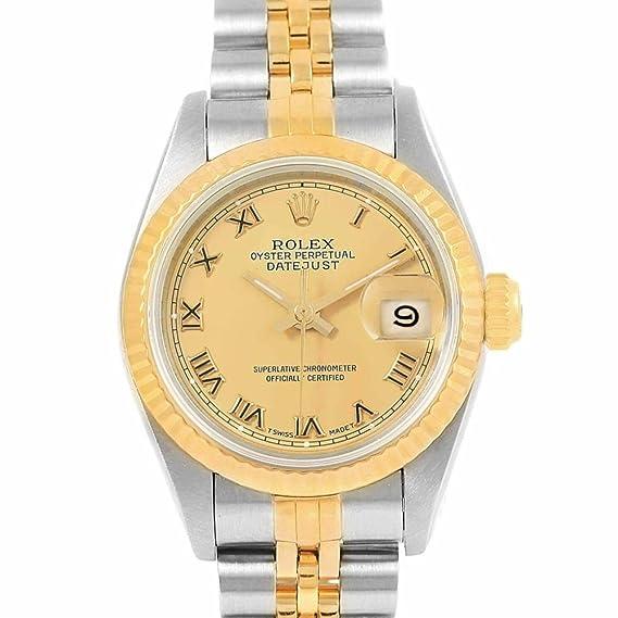 Rolex Datejust 69163 - Reloj automático para mujer (certificado de autenticidad)