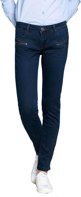 BlueFire Damen Jeans Alicia Skinny Fit Rinsed