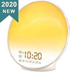 Sunrise Alarm Clock with Gradual Alarm