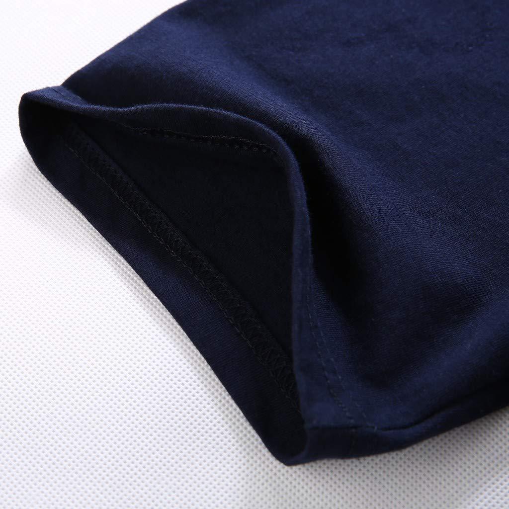 iLXHD Mens T-Shirt Summer Zoo Funny Printed Casual Short Large Size Crewneck Tops Blouse Short Sleeve