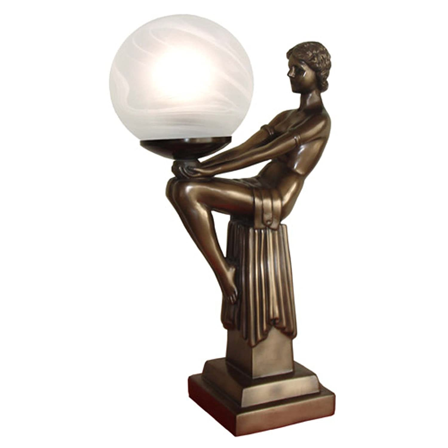 max nouveau ball with antiques h items sold en cm deco collection art le lamp inch nude verrier