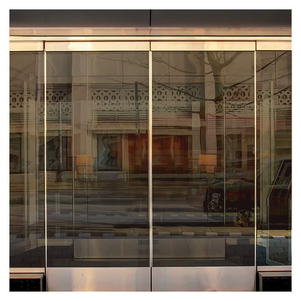 BDF BRZ35 Window Film Bronze Sun and Heat Control (Medium) - 36in X 24ft by Buydecorativefilm