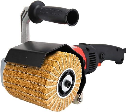60 Grit Polishing Drawing Wheel Burnishing for Polisher Rust Remove 120x100x20mm