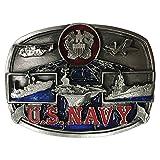 Bergamot Brand U.S. Navy Men's Belt Buckle - U132PE