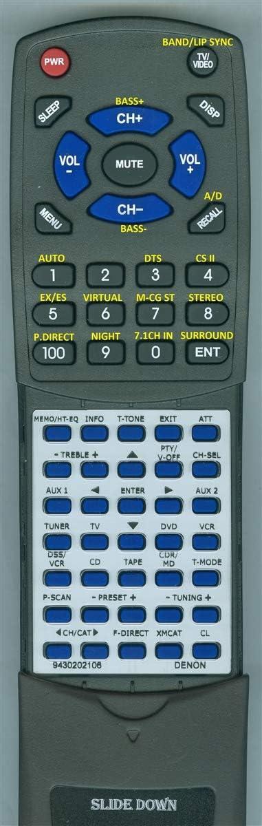 Replacement Remote for Denon RC-1065 DNA7100