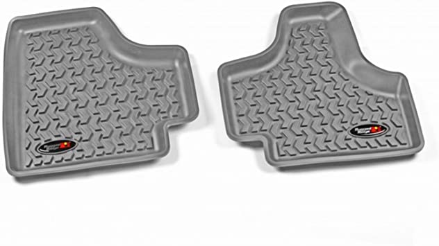Rugged Ridge All-Terrain 12987.20 Black Front and Rear Floor Liner Kit For Select Jeep Cherokee Models