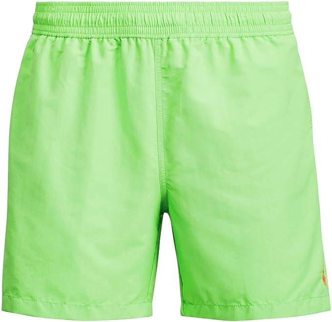 Polo Ralph Lauren Hawaiian-Swim - Bañador para Hombre, Verde (FORCE GREEN XW6ZF), XL: Amazon.es: Ropa y accesorios