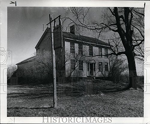 1982 Press Photo Zima Kent House in Aurora, Ohio - - Frame Zima