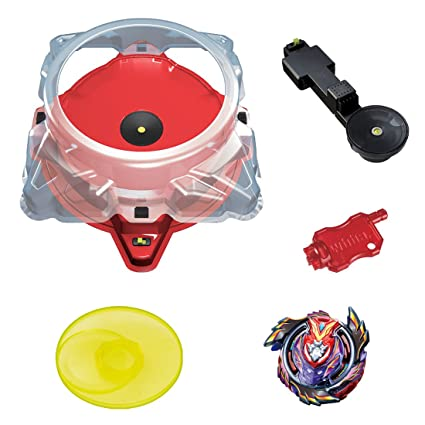 61d7f548bda Amazon.com  Takara Tomy Beyblade Burst B-96 Mugen Infinite Bey Stadium DX  Set  Toys   Games