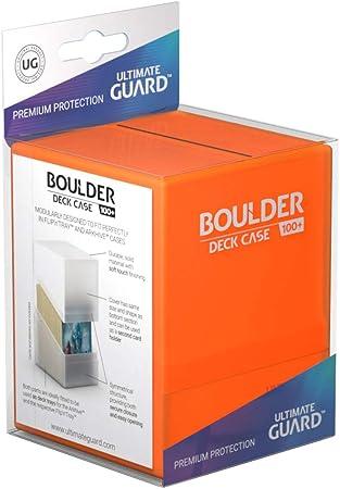 Ultimate Guard UGD010846 Boulder 100+ - Funda para mazo de topacio: Amazon.es: Juguetes y juegos
