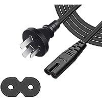 ArtiConnex|™ Figure 8 power cord, Figure 8 power supply Cord, standard 3-prong Australia plug to figure 8 cable, F8 TV…