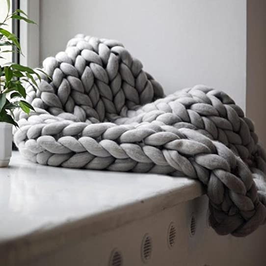 Image result for chunky knit blanket