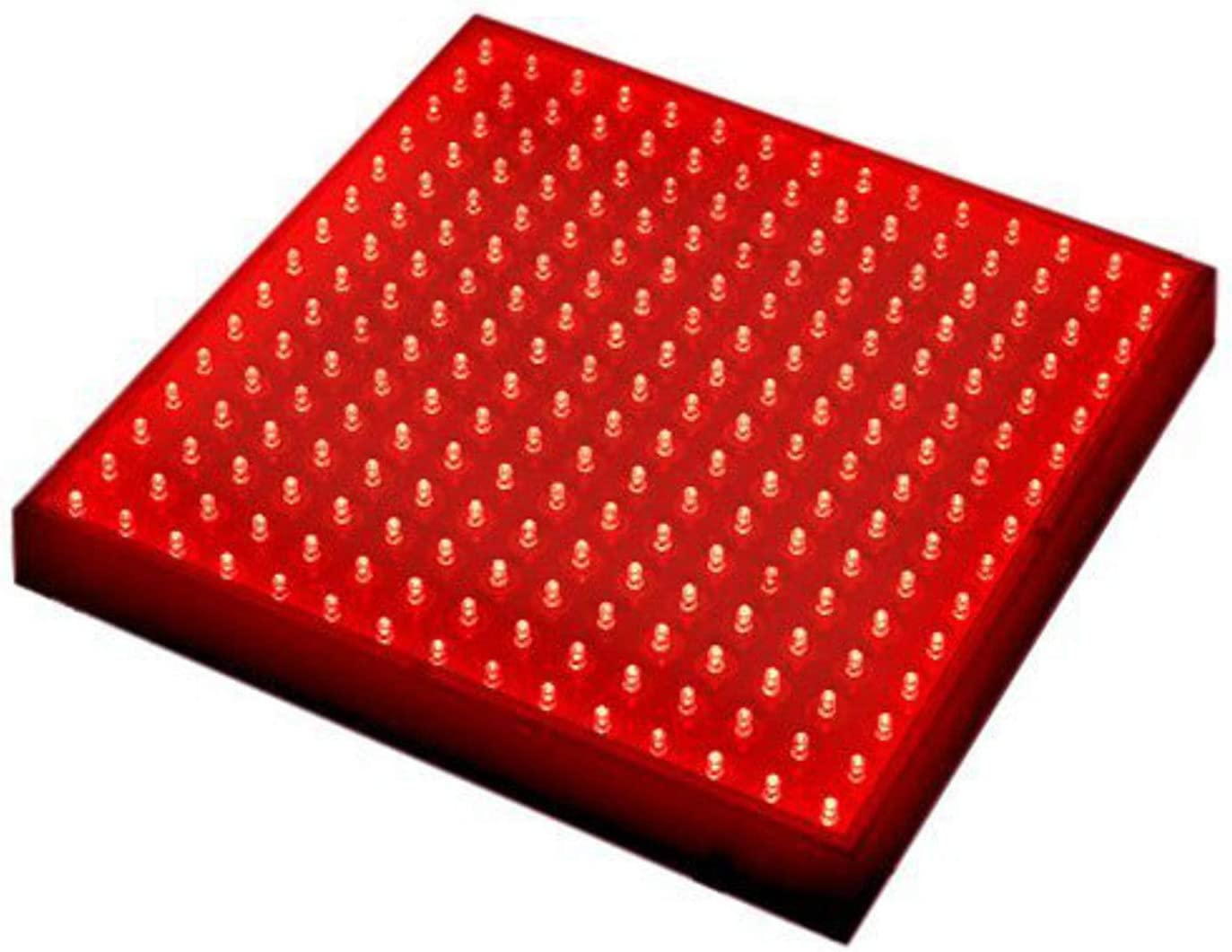 HQRP 225 Red LED Indoor Garden Hydroponic Plant Grow Light Panel 14W Hanging Kit