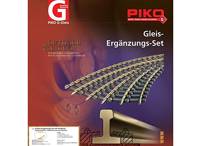 Amazon com: Silvergate Distributors Inc  Piko Germany - Siding Train