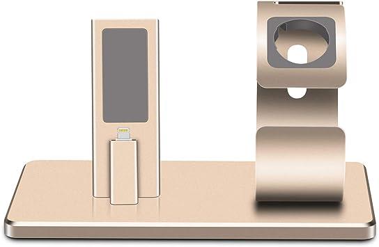 QIHANG para Apple Watch Soporte, Aluminio Soporte estación Cradle ...