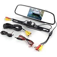 Monitor de espejo retrovisor TFT con clip