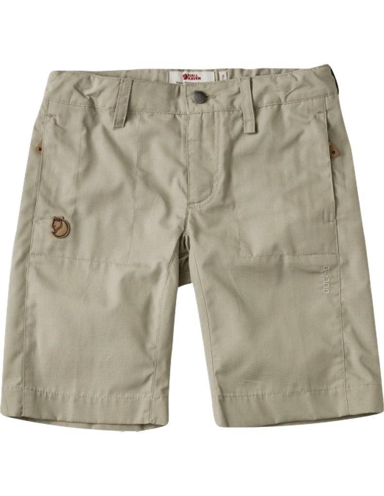 Fjallraven Kid's Abisko Shade Shorts, Limestone, 158 by Fjällräven