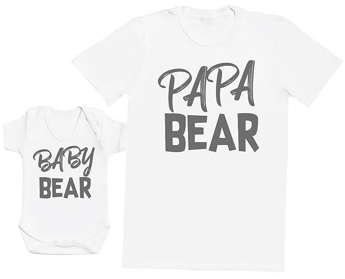Baby Bear & Papa Bear - regalo para padres y bebés en un ...