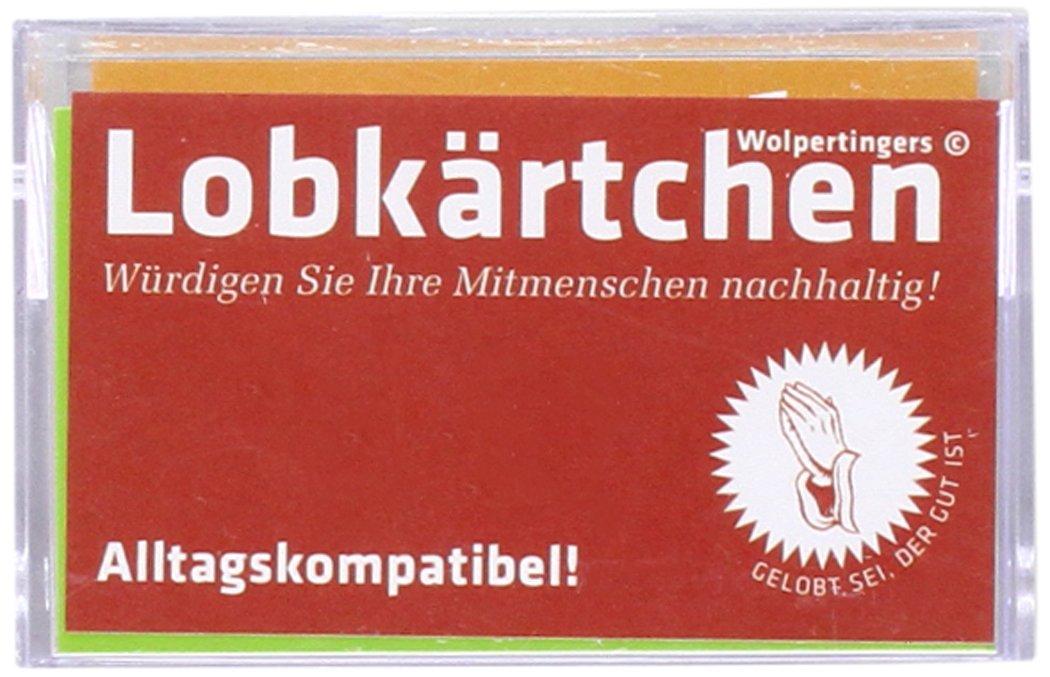Lobkärtchen Erwachsene / 100 Papierkärtchen: Würdigen Sie Ihre Mitmenschen nachhaltig!