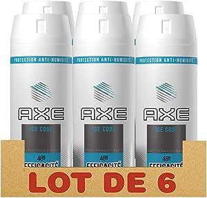 Axe - Desodorante Ice Cool Dry, Pack de 6 x 150 ml: Amazon.es: Belleza